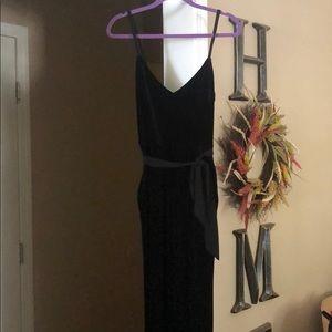 Black Velvet Calvin Klein Jumpsuit